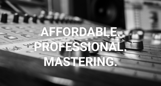 AFFORDABLE PROFESSIONAL MASTER - Overpass Mastering