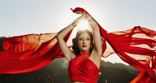 I am a versatile singer.  - Christa Marena