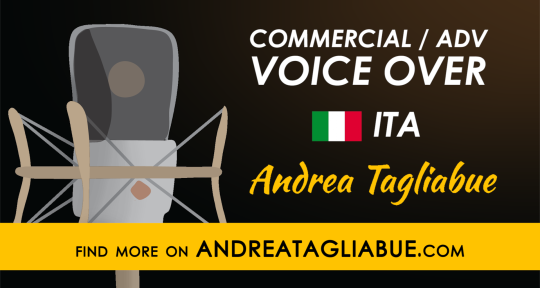 Voice Over Services - Andrea