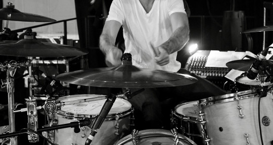 Session drummer, producer, - Victor Indrizzo