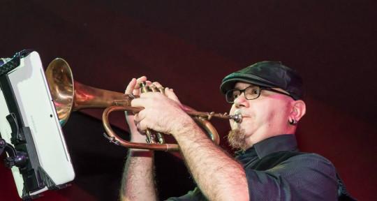 trumpet player  - Ghero trumpet