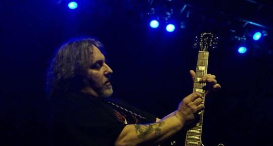 Hard rockin' guitarist - Domonic Rini