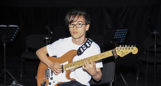 Session Guitarist - Ayberk Güngör