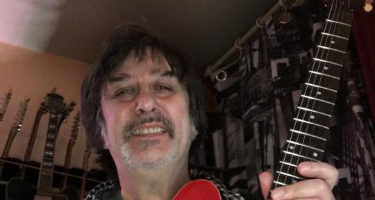 recording studio, guitarist - Claud150