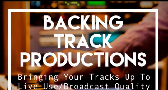 Produce pro backing tracks. - Backing Tracks