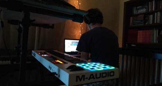 Session drummer, producer, mix - Vnliketheocean