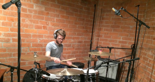 Session Drummer, Producer - Enrique Lara