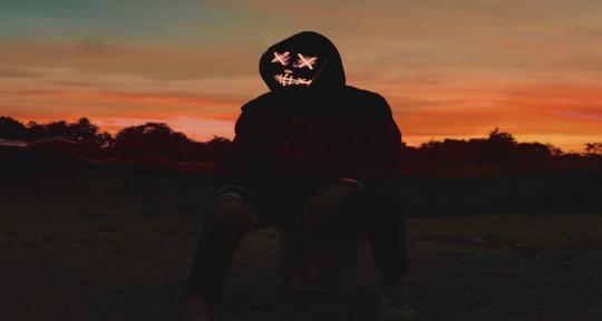 EDM Production  - red mask