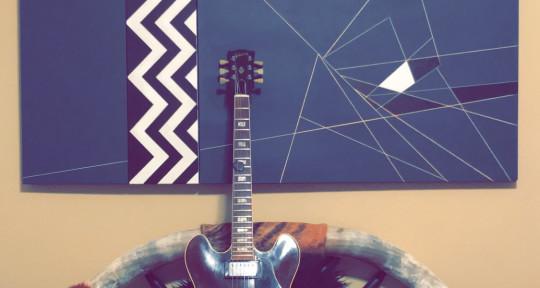 Session guitarist - Luke Hickok
