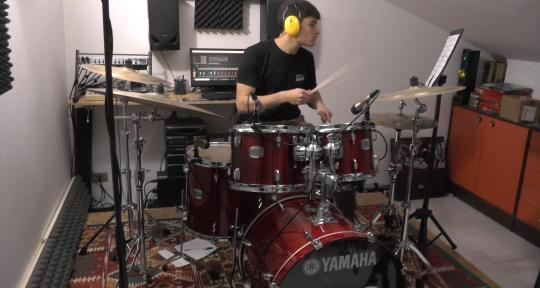 Session Drummer - Mattia Mingarini