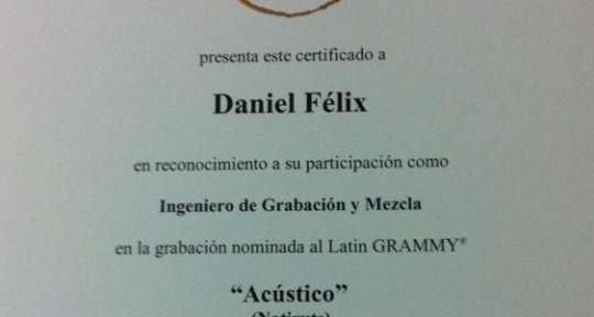 MIXING ENGINEER - DANIEL FELIX