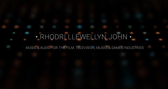 Music production studio - Rhodri Llewellyn John