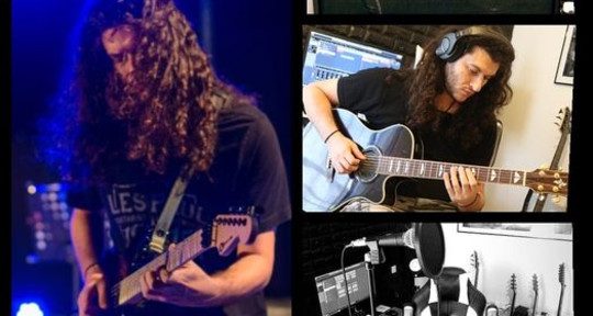 Recording & Touring Guitarist - Kiriakos GP