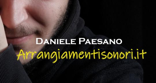Session Guitarist - Daniele Paesano