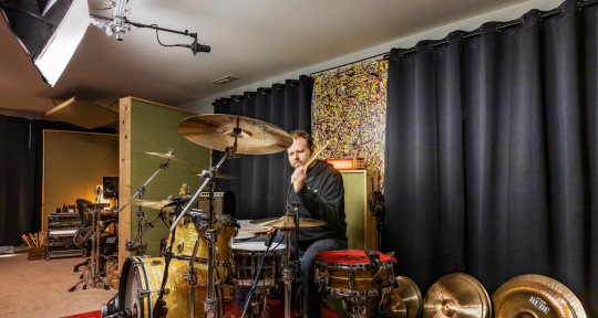 Drummer, Mixer, Producer - Jeff Brown