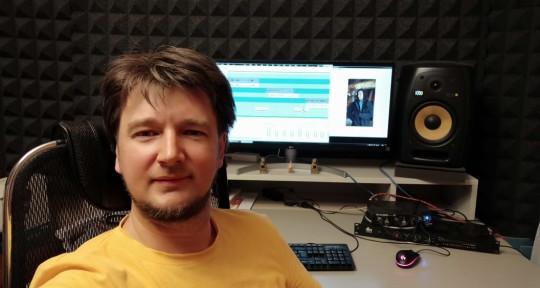 Sound-Design Remote Mix & Mast - Dmitry Tsyban