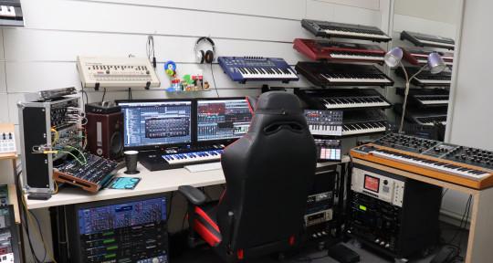 Music production, sound design - BamBam Studio