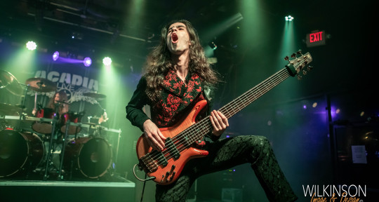 Metal Bassist  - Peter Albert de Reyna