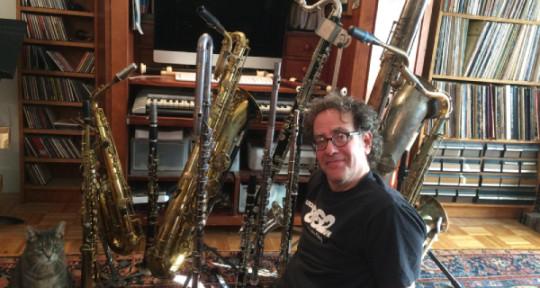 "Remote Recording, Woodwinds - Jeff ""Houndog"" Schiller"