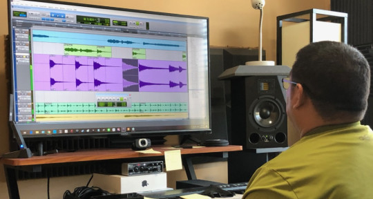 Mixing engineer and producer   - Saul Marin