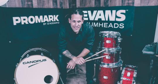 Session Drummer - Adam Fisher
