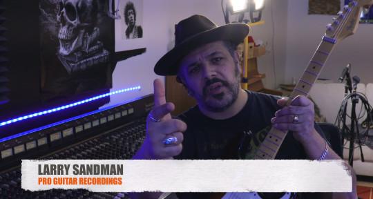 Vocalist/Guitarist - Larry Sandman