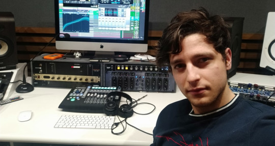 Mixing & Mastering Engineer - Jacopo Di Felice