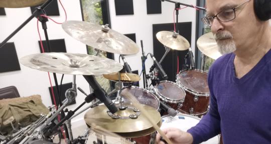 Session Drummer - Ivan Hoe