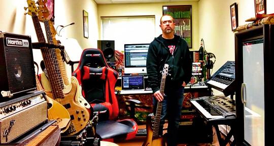 Bass, Audio Engineer, Synth - Chuck Hillwig