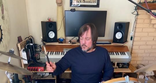 Session Drummer  - Jeff Berlin