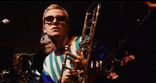 Beat Maker and Trombone - David Cooper
