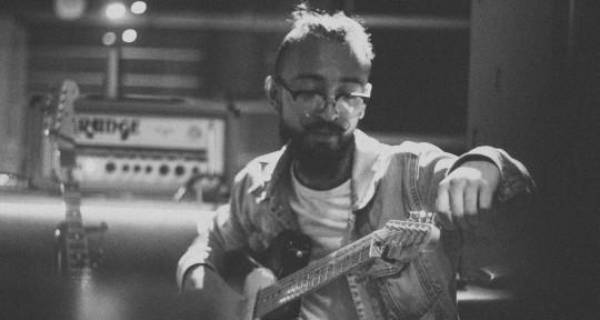 Session guitarist, producer - Juan Ricardo Cardenas