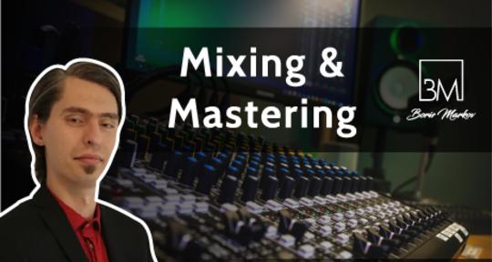 Audio Engineer - Boris Markov