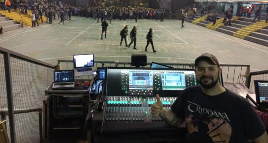 FOH & Monitor Engineer  - Juan Manuel Lozano