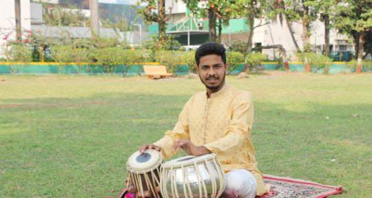 Professional Tabla Player - Ajay Desai