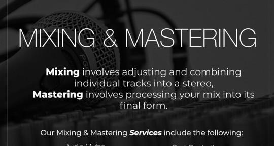 Music mixing and mastering  - nakshndaksh