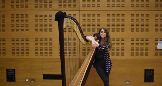 Session Harpist and Arranger - Alice Roberts
