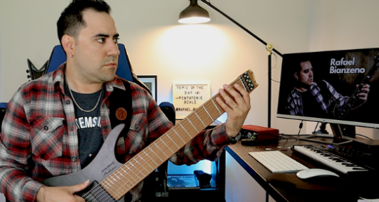 Recording, Session Guitarist - Rafael Bianzeno