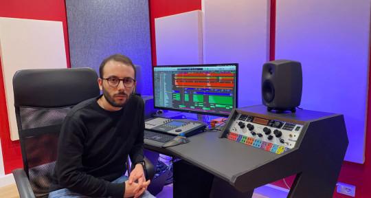 Audio engineer - Santino Polidoro