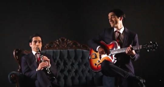 Tap Dance, Guitar & Clarinet - Ron Freund