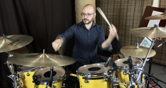 Session Drummer  - Silvio Centamore
