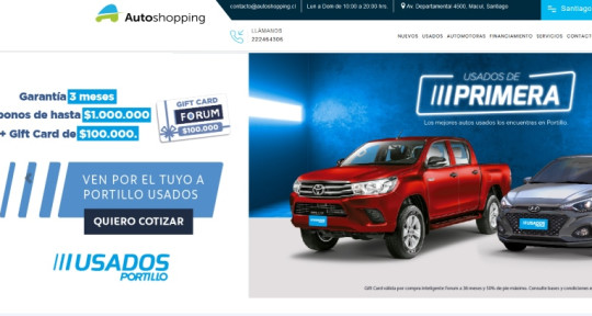 Chile - Autoshopping Chile