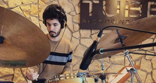 Session Drummer, Percussionist - Giacomo Ganzerli