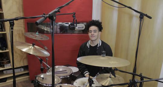 Live & studio session drummer - Aldeir Palencia