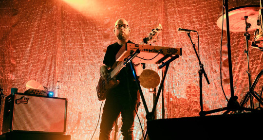 Electric, synth & upright bass - Huw Foster