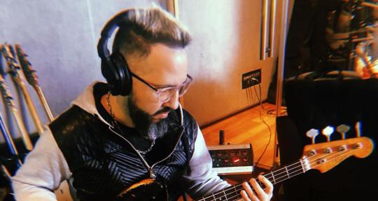 Session Bassist - Pablo Alvarez Vilariño