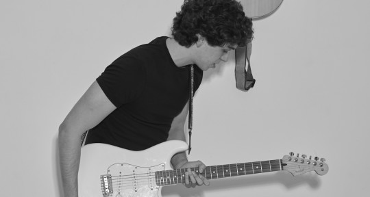 S-S, Guitarist and Producer. - Dirk Bornhorst
