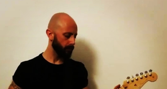 Session guitarist and author   - Christopher Bignamini