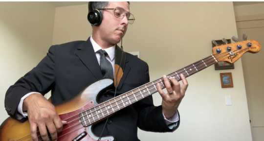 Session 4 String Bass Player  - Nicholas Reed