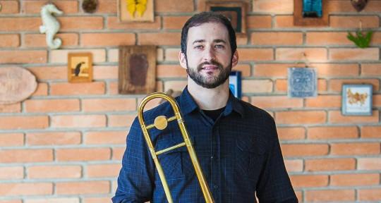 Trombonist. - Fabinho Oliva